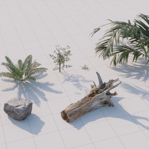 13 - Villa in a Forest - Low vegetation asset